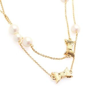 Kate Spade all wrapped up long necklace